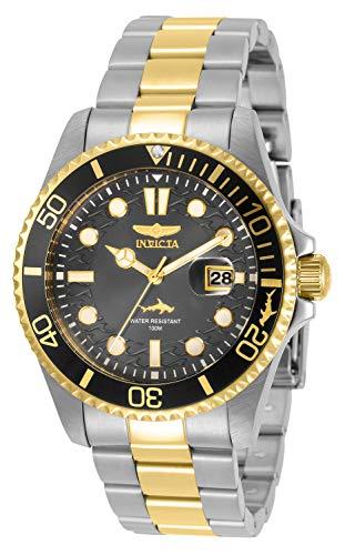 腕時計 インヴィクタ インビクタ メンズ 【送料無料】Invicta Pro Diver Men 43mm Stainless Steel Charcoal dial Quartz, 30809腕時計 インヴィクタ インビクタ メンズ