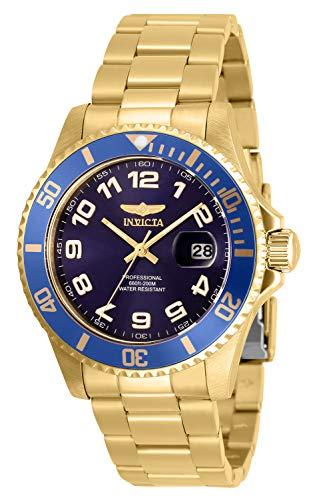 腕時計 インヴィクタ インビクタ メンズ 【送料無料】Invicta Pro Diver Men 40mm Stainless Steel Gold Blue dial Quartz, 30694腕時計 インヴィクタ インビクタ メンズ