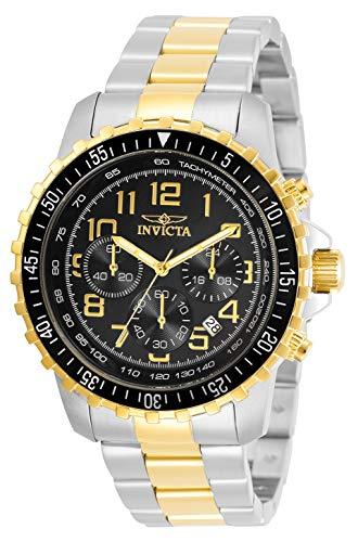 インヴィクタ インビクタ 腕時計 メンズ 【送料無料】Invicta Specialty Men 45.5mm Stainless Steel Stainless Steel Black dial Quartz, 30792インヴィクタ インビクタ 腕時計 メンズ