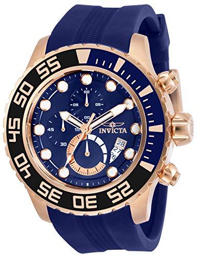 インヴィクタ インビクタ 腕時計 メンズ 【送料無料】Invicta Pro Diver Men 52mm Stainless Steel Rose Gold Blue dial Quartz, 30731インヴィクタ インビクタ 腕時計 メンズ