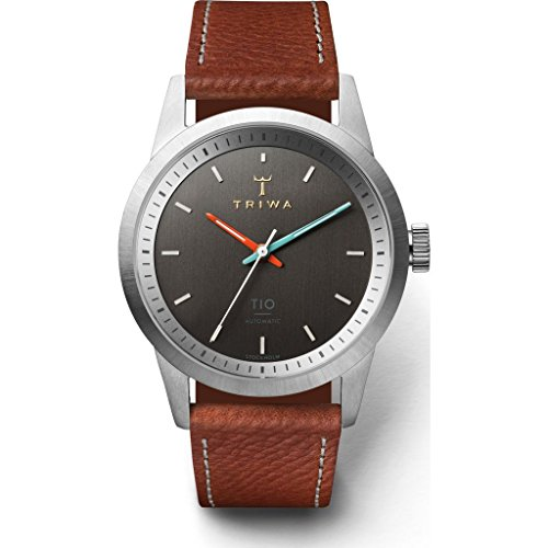 トリワ 腕時計 メンズ 北欧 ヨーロッパ 【送料無料】Triwa Grey TIO Automatic Watch   Brown Classicトリワ 腕時計 メンズ 北欧 ヨーロッパ