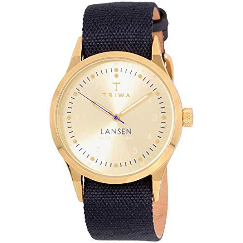 トリワ 腕時計 メンズ 北欧 ヨーロッパ 【送料無料】Triwa Lansen Mono Wrist Watch w/ Canvas Band (Navy)トリワ 腕時計 メンズ 北欧 ヨーロッパ