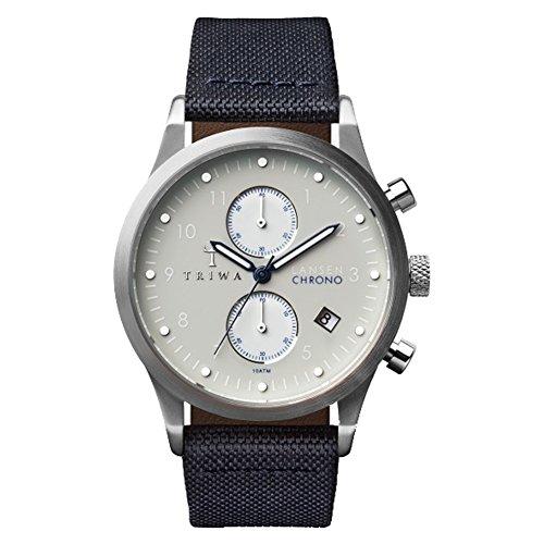 トリワ 腕時計 メンズ 北欧 ヨーロッパ 【送料無料】Triwa Shade Lansen Chrono Watch - Navy Canvas Classicトリワ 腕時計 メンズ 北欧 ヨーロッパ