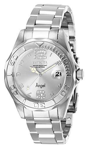 インヴィクタ インビクタ 腕時計 レディース 【送料無料】Invicta Women's Angel Quartz Watch with Stainless Steel Strap, Silver, 18 (Model: 28679)インヴィクタ インビクタ 腕時計 レディース