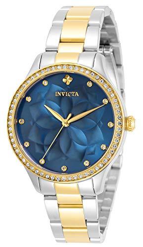 インヴィクタ インビクタ 腕時計 レディース 【送料無料】Invicta Wildflower Lady 35mm Stainless Steel Blue dial Quartz, 30719インヴィクタ インビクタ 腕時計 レディース