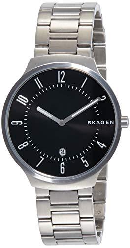 スカーゲン 腕時計 メンズ 【送料無料】Skagen Men's Grenen Two-Hand Date Silver-Tone Stainless Steel Watch SKW6515スカーゲン 腕時計 メンズ