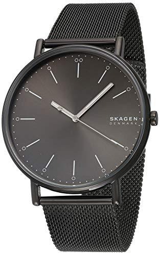 スカーゲン 腕時計 メンズ 【送料無料】Skagen Signatur Gunmetal Steel-Mesh Watch - SKW6549 Grey One Sizeスカーゲン 腕時計 メンズ