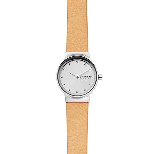 スカーゲン 腕時計 レディース 【送料無料】Skagen Women's Freja Two-Hand Silver-Tone Stainless Steel Watch SKW2776スカーゲン 腕時計 レディース