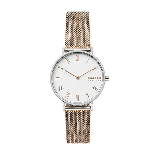 スカーゲン 腕時計 レディース 【送料無料】Skagen Women's Hald Quartz Stainless Steel Mesh Watch, Color: Two-Tone, 16 (Model: SKW2815)スカーゲン 腕時計 レディース