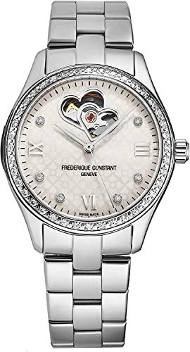 フレデリックコンスタント フレデリック・コンスタント 腕時計 レディース 【送料無料】Frederique Constant Double Heart Beat Automatic Diamond Ladies Watch FC-310WDHB3BD6Bフレデリックコンスタント フレデリック・コンスタント 腕時計 レディース