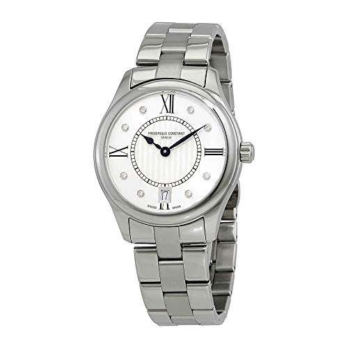 フレデリックコンスタント フレデリック・コンスタント 腕時計 レディース 【送料無料】Frederique Constant Classics Quartz Diamond White Dial Watch FC-220MSD3B6Bフレデリックコンスタント フレデリック・コンスタント 腕時計 レディース