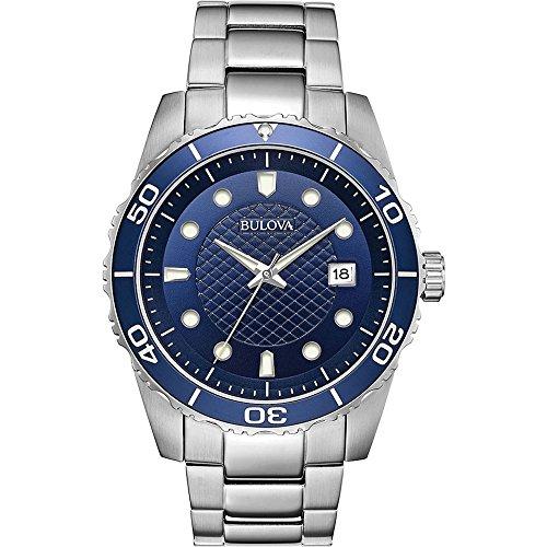 ブローバ 腕時計 メンズ 【送料無料】Bulova Mens Analogue Quartz Watch with Stainless Steel Strap 98A194ブローバ 腕時計 メンズ