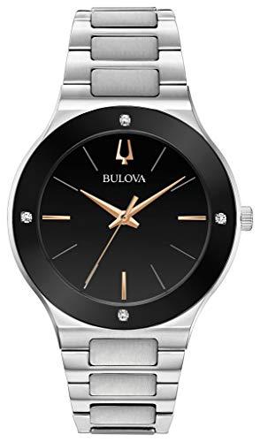 ブローバ 腕時計 メンズ 【送料無料】Bulova Mens Analogue Quartz Watch with Stainless Steel Strap 9.6E+118ブローバ 腕時計 メンズ