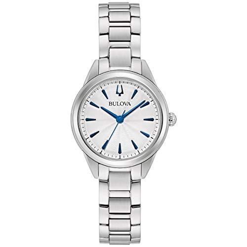 ブローバ 腕時計 レディース 【送料無料】Bulova Sutton - 96L285 White One Sizeブローバ 腕時計 レディース