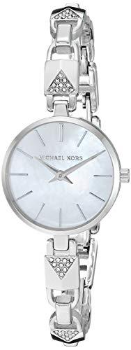 マイケルコース 腕時計 レディース 母の日特集 マイケル・コース 【送料無料】Michael Kors Women's Jaryn Mercer Quartz Watch with Stainless Steel Strap, Silver, 7 (Model: MK4438)マイケルコース 腕時計 レディース 母の日特集 マイケル・コース