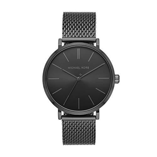 腕時計 マイケルコース メンズ マイケル・コース アメリカ直輸入 【送料無料】Michael Kors Men's Auden Three-Hand Black-Tone Alloy Watch MK7152腕時計 マイケルコース メンズ マイケル・コース アメリカ直輸入