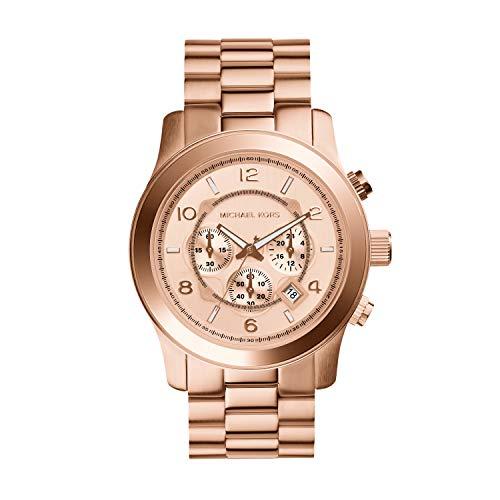 マイケルコース 腕時計 メンズ マイケル・コース アメリカ直輸入 【送料無料】Michael Kors Men's Runway Chronograph Rose Gold-Tone Stainless Steel Watch MK8735マイケルコース 腕時計 メンズ マイケル・コース アメリカ直輸入