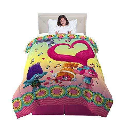 トロールズ アメリカ直輸入 アニメ 映画 ドリームワークス 【送料無料】Franco Kids Bedding Comforter, Twin/Full Size 72
