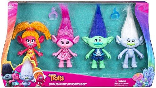 無料ラッピングでプレゼントや贈り物にも 逆輸入並行輸入送料込 トロールズ アメリカ直輸入 アニメ 映画 ドリームワークス 送料無料 Troll Dolls 限定価格セール 4 Pack Exclusive 9