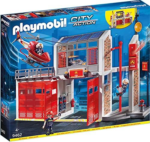 プレイモービル ブロック 組み立て 知育玩具 ドイツ 【送料無料】PLAYMOBIL Fire Stationプレイモービル ブロック 組み立て 知育玩具 ドイツ