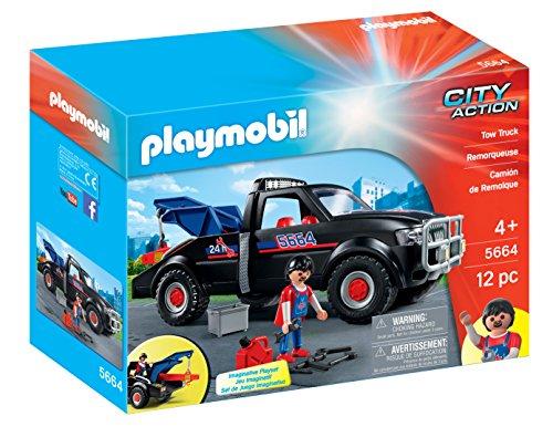 プレイモービル ブロック 組み立て 知育玩具 ドイツ 【送料無料】PLAYMOBIL Tow Truck Playsetプレイモービル ブロック 組み立て 知育玩具 ドイツ