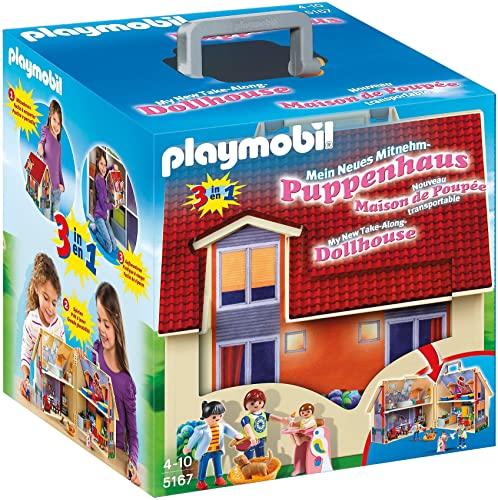 プレイモービル ブロック 組み立て 知育玩具 ドイツ 【送料無料】PLAYMOBIL Take Along Modern Doll Houseプレイモービル ブロック 組み立て 知育玩具 ドイツ