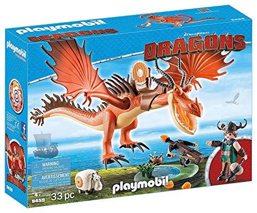 プレイモービル ブロック 組み立て 知育玩具 ドイツ 【送料無料】PLAYMOBIL How to Train Your Dragon Snotlout with Hookfangプレイモービル ブロック 組み立て 知育玩具 ドイツ