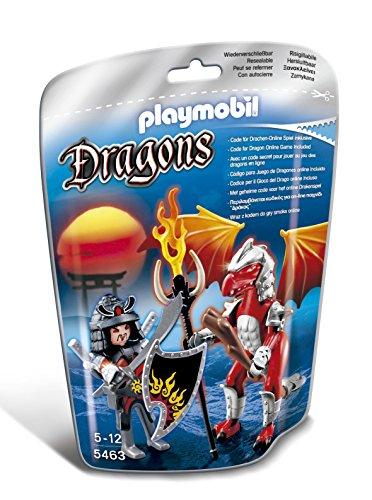 プレイモービル ブロック 組み立て 知育玩具 ドイツ 【送料無料】PLAYMOBIL Fire Dragon with Warriorプレイモービル ブロック 組み立て 知育玩具 ドイツ