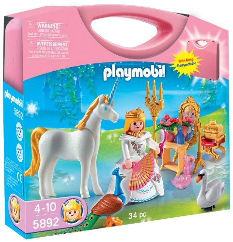 プレイモービル ブロック 組み立て 知育玩具 ドイツ 【送料無料】PLAYMOBIL Princess Carrying Case Playsetプレイモービル ブロック 組み立て 知育玩具 ドイツ