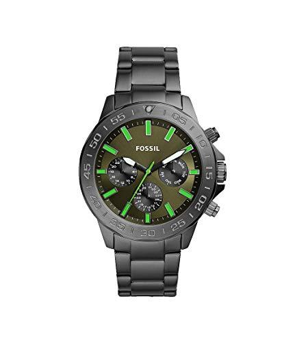 フォッシル 腕時計 メンズ 【送料無料】Fossil Bannon Multifunction Smoke Stainless Steel Watch BQ2504フォッシル 腕時計 メンズ
