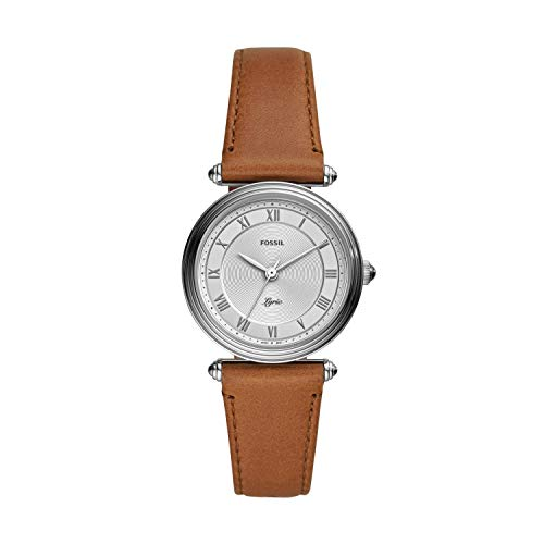 フォッシル 腕時計 レディース 【送料無料】Fossil Women's Lyric Three-Hand Stainless Steel Watch ES4706フォッシル 腕時計 レディース
