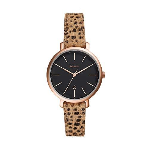 フォッシル 腕時計 レディース 【送料無料】Fossil Jacqueline - ES4681 Gold/Cheetah One Sizeフォッシル 腕時計 レディース