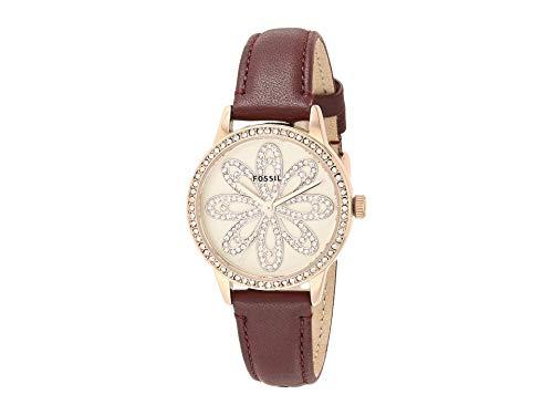 フォッシル 腕時計 レディース 【送料無料】Fossil 30 mm Dinah BQ7009 Red One Sizeフォッシル 腕時計 レディース