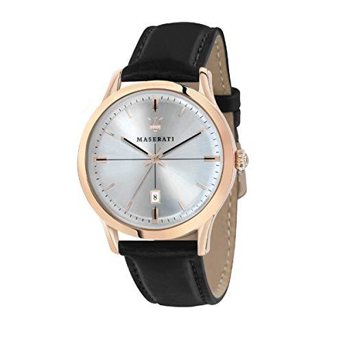 腕時計 マセラティ イタリア メンズ 【送料無料】Maserati R8851125005 Black Steel 316 L Man Watch腕時計 マセラティ イタリア メンズ