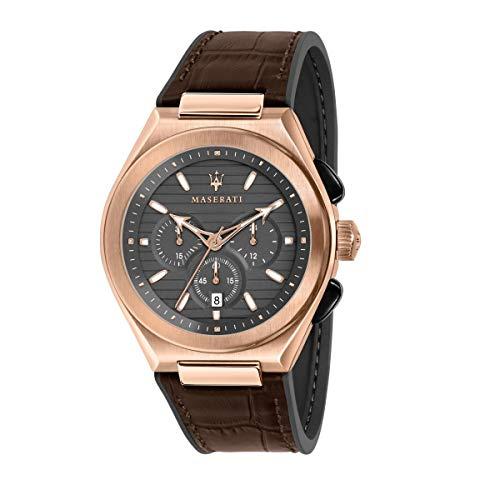腕時計 マセラティ イタリア メンズ 【送料無料】Maserati R8871639003 Brown Steel 316 L Man Watch腕時計 マセラティ イタリア メンズ