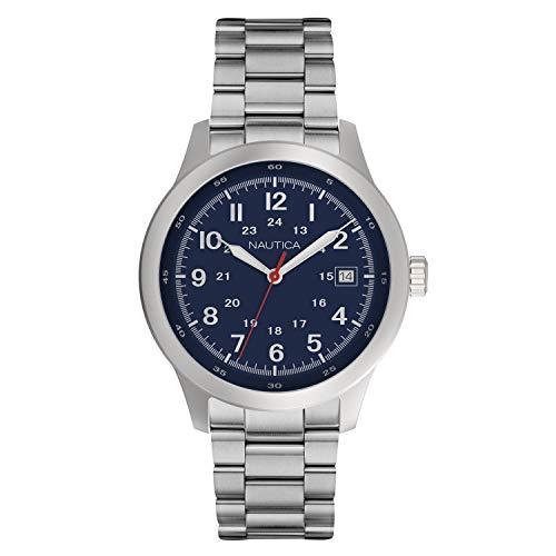 腕時計 ノーティカ メンズ 【送料無料】Nautica Men's Cruise Nct 1 NAPNTI805 Blue Stainless-Steel Quartz Fashion Watch腕時計 ノーティカ メンズ