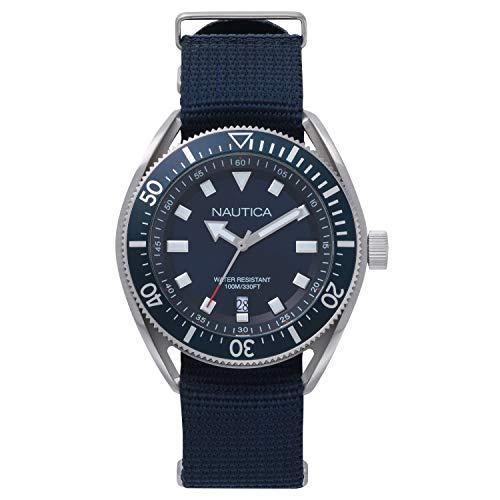 ノーティカ 腕時計 メンズ 【送料無料】Nautica Men's Analogue Quartz Watch with Leather Strap NAPPRF009ノーティカ 腕時計 メンズ
