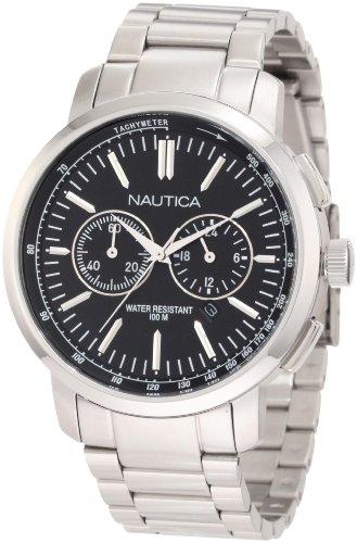 腕時計 ノーティカ メンズ 【送料無料】Nautica Men's N22600G Classic Chron Bracelet/NCT 800 Watch腕時計 ノーティカ メンズ