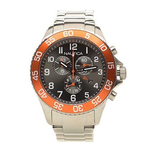 ノーティカ 腕時計 メンズ 【送料無料】Nautica NAI17511G NST 19 Chronograph Men's Watchノーティカ 腕時計 メンズ