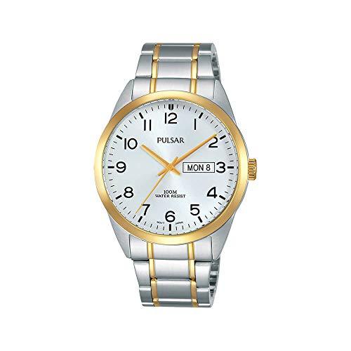 腕時計 パルサー SEIKO セイコー メンズ 【送料無料】Pulsar Gents Watch with Silver Two Tone Strap and Silver Dial PJ6064X1腕時計 パルサー SEIKO セイコー メンズ