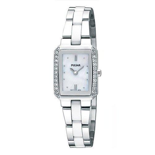 パルサー SEIKO セイコー 腕時計 レディース 【送料無料】Pulsar 2-Hand Ceramic and Stainless Steel Women's watch #PEGG07パルサー SEIKO セイコー 腕時計 レディース