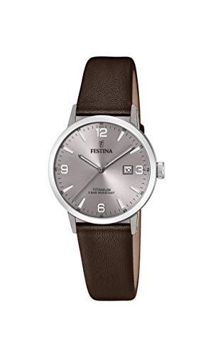 日本最大のブランド 腕時計 フェスティナ フェスティーナ フェスティナ Brown スイス Strap, レディース【送料無料】Festina Women's Titanium Quartz Watch with Leather Strap, Brown (Model: F20472/2)腕時計 フェスティナ フェスティーナ スイス レディース, Kbags オンラインショップ:0a6166e9 --- rishitms.com