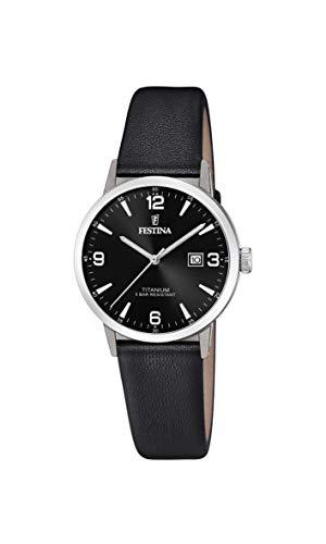 信頼 腕時計 フェスティナ フェスティーナ レディース スイス レディース【送料無料】Festina Women's 16 F20472/3)腕時計 Titanium Quartz Watch with Leather Strap, Black, 16 (Model: F20472/3)腕時計 フェスティナ フェスティーナ スイス レディース, 神棚の山丸:5bc59bbd --- rishitms.com