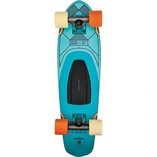スタンダードスケートボード スケボー 海外モデル 直輸入 【送料無料】Globe Blazer GSB Speaker Board Teal Complete Skateboard - 7.25
