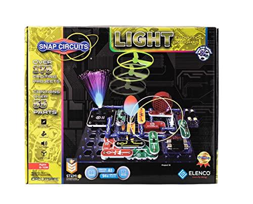 エレンコ ロボット 電子工作 知育玩具 パズル SCL-175 Snap Circuits SCL-175 Lights Electronics Exploration Kit | Over 175 Exciting STEM Projects | 4-Color Project Manual | 55 Snap Modules | Unlimited Fuエレンコ ロボット 電子工作 知育玩具 パズル SCL-175