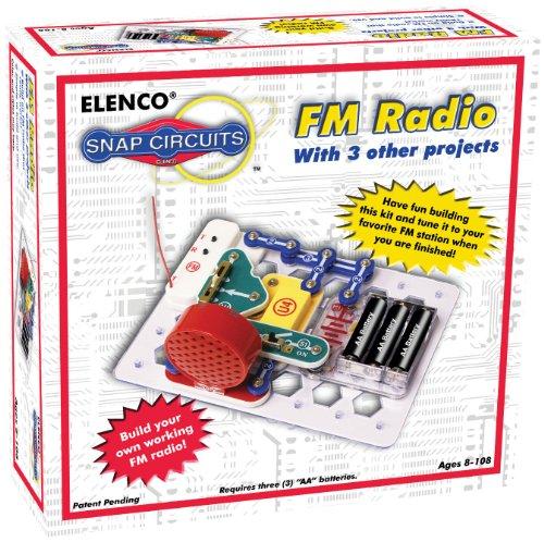 エレンコ ロボット 電子工作 知育玩具 パズル SCP-02 Snap Circuits FM Radio Kitエレンコ ロボット 電子工作 知育玩具 パズル SCP-02