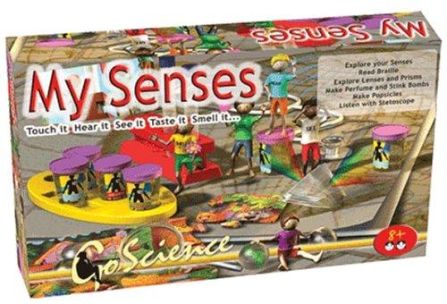 エレンコ ロボット 電子工作 知育玩具 パズル EDU-7086 Edu-Toys Go Science My Senses Body Awareness Science Kitエレンコ ロボット 電子工作 知育玩具 パズル EDU-7086