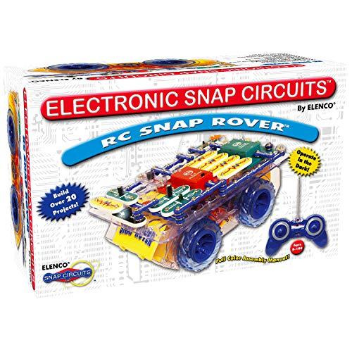 エレンコ ロボット 電子工作 知育玩具 パズル SCROV-10 【送料無料】Snap Circuits R/C Snap Rover Electronics Exploration Kit | 23 Fun STEM Projects | 4-Color Project Manual | 30+ Snap Modules | Uエレンコ ロボット 電子工作 知育玩具 パズル SCROV-10