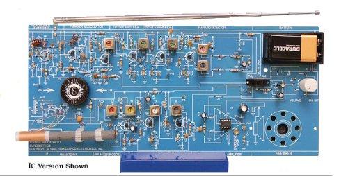 エレンコ ロボット 電子工作 知育玩具 パズル AM/FM108Tk Elenco - AM/FM Radio Kit (Transistor Version)エレンコ ロボット 電子工作 知育玩具 パズル AM/FM108Tk