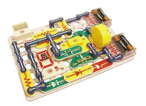 エレンコ ロボット 電子工作 知育玩具 パズル SC-500S Snap Circuits PRO SC-500 Electronics Exploration Kit with Computer Interface & 73 Additional Experimentsエレンコ ロボット 電子工作 知育玩具 パズル SC-500S